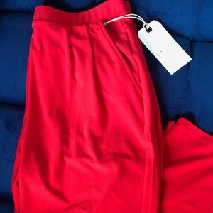 NTW Leith red pants
